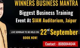 Biggest Business Training Event in Jaipur by Shashikant Khamkar
