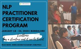 NLP Practitioner Certification Program - January 2020
