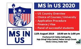 Workshop : MS in US : 2020