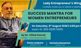 Success Mantra For Women Entrepreneurs