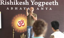 200 Hour Yoga Teacher Training in Rishikesh, India,2019