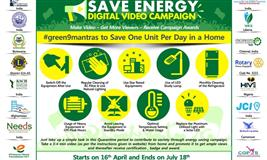 Earth Day Save Energy Digital Video Campaign