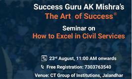 Free Art of Success Seminar at CTC group of Institutions, Jalandhar