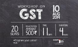 Workshop on GST