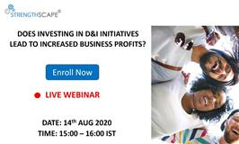 Does investing in D&I initiatives lead to increased business profits?