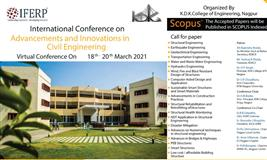 International Conference on Advancements and Innovations in Civil Engineering