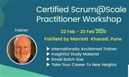 Certified Scrum@Scale Practitioner Workshop by #JeffLopez 22-23 Feb 2020