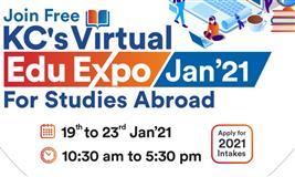 Attend KC's Mega 5 Days Virtual Edu Expo January 2021