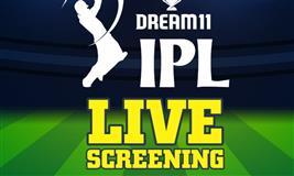 IPL Live Screening at Sugarless Life Cafe & Dessert Lounge