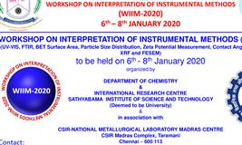 Workshop on Interpretation of Instrumental Methods (WIIM - 2020)