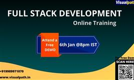 Free Online Demo Class on Full Stack Training from Industry Experts