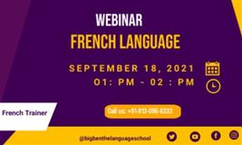 French Language Webinar