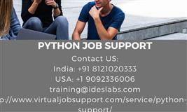 Python job support | Python online project job support