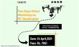 Two Days Workshop on RC Quadcopter