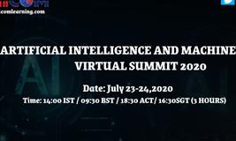 ARTIFICIAL INTELLIGENCE AND MACHINE LEARNING VIRTUAL SUMMIT 2020