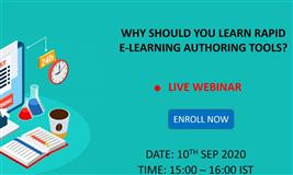[Free Webinar] Why Should You Learn Rapid eLearning Authoring Tools?