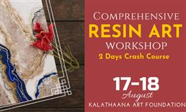 Resin art workshop Bangalore