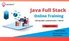 Java Full Stack Online Training