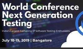 World Conference Next Generation Testing 2019