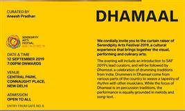 Dhamaal: Serendipity Arts Festival In Connaught Place