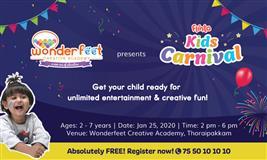 Flinto Kids Carnival @ Wonderfeet Creative Academy