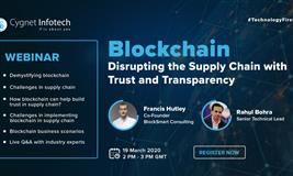 Blockchain – Disrupting the Supply Chain with Trust and Transparency