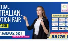 Virtual Australian Education Fair, Chandigarh | 19th January, 2021