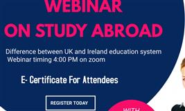Webinar on Study Abroad
