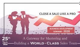 Close a Sale Like a Pro (Business Development Seminar 2020)