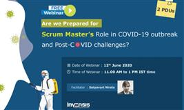 Are we prepared for Scrum Master's Role in COVID-19 outbreak?