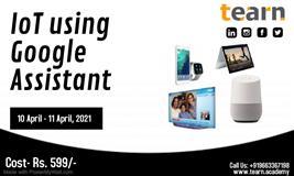 IoT using Google Assistant