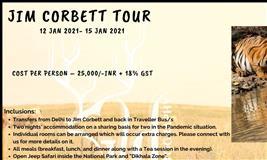 Jim Corbett Wildlife Tour 2021
