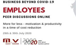 Business Beyond COVID-19 : Peer discussions Online