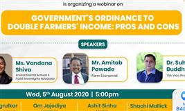 Government's Ordinance to Double Farmers Income: Pros and Cons