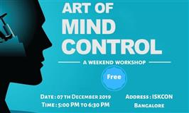 Art of Mind Control- Free Workshop at ISKCON Temple