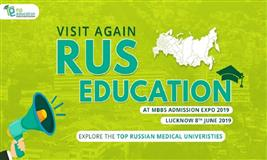 Rus Education in MBBS ADMISSION EXPO in Lucknow