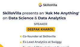 Ask Me Anything Session on Data Science and Data Analytics