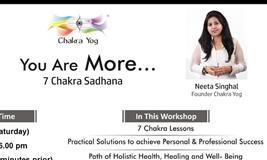 You Are More - 7 Chakra Sadhana Workshop Nashik