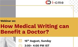 Webinar on - How Medical Writing can Benefit a Doctor?