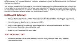 HR & WORKFORCE ANALYTICS - 2019