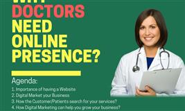 A free Webinar on Why Doctors Need Online presence