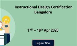 Instructional Design (ID) Certification – Bangalore