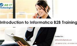 Informatica B2B Training | Informatica B2B Data Transformation Training