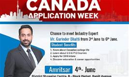 Canada Application Week