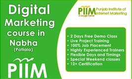 Digital Marketing Course in Nabha