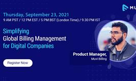 Simplifying Global Billing Management for Digital Companies