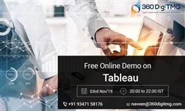 Free Online Demo On Tableau