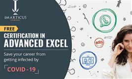CERTIFICATION IN  ADVANCED EXCEL