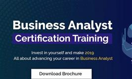 New Business Analyst Training Batch to Start in September