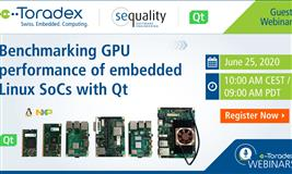 Webinar: Benchmarking GPU performance of embedded Linux SoCs with Qt
